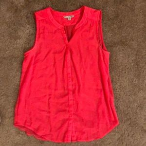 American Eagle button up tank top